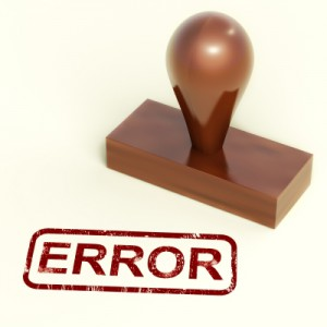 Error - stamp
