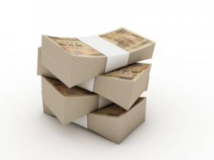 Money - stack of notes