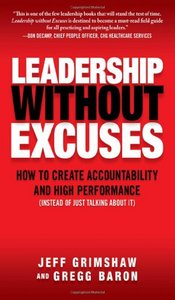 Book - Leadership without excuses