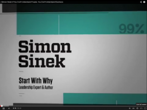 Video- Simon Sinek - If you don't understand people, you don't understand business
