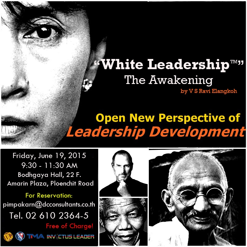 Thailand - White Leadership 19 June 2015 event