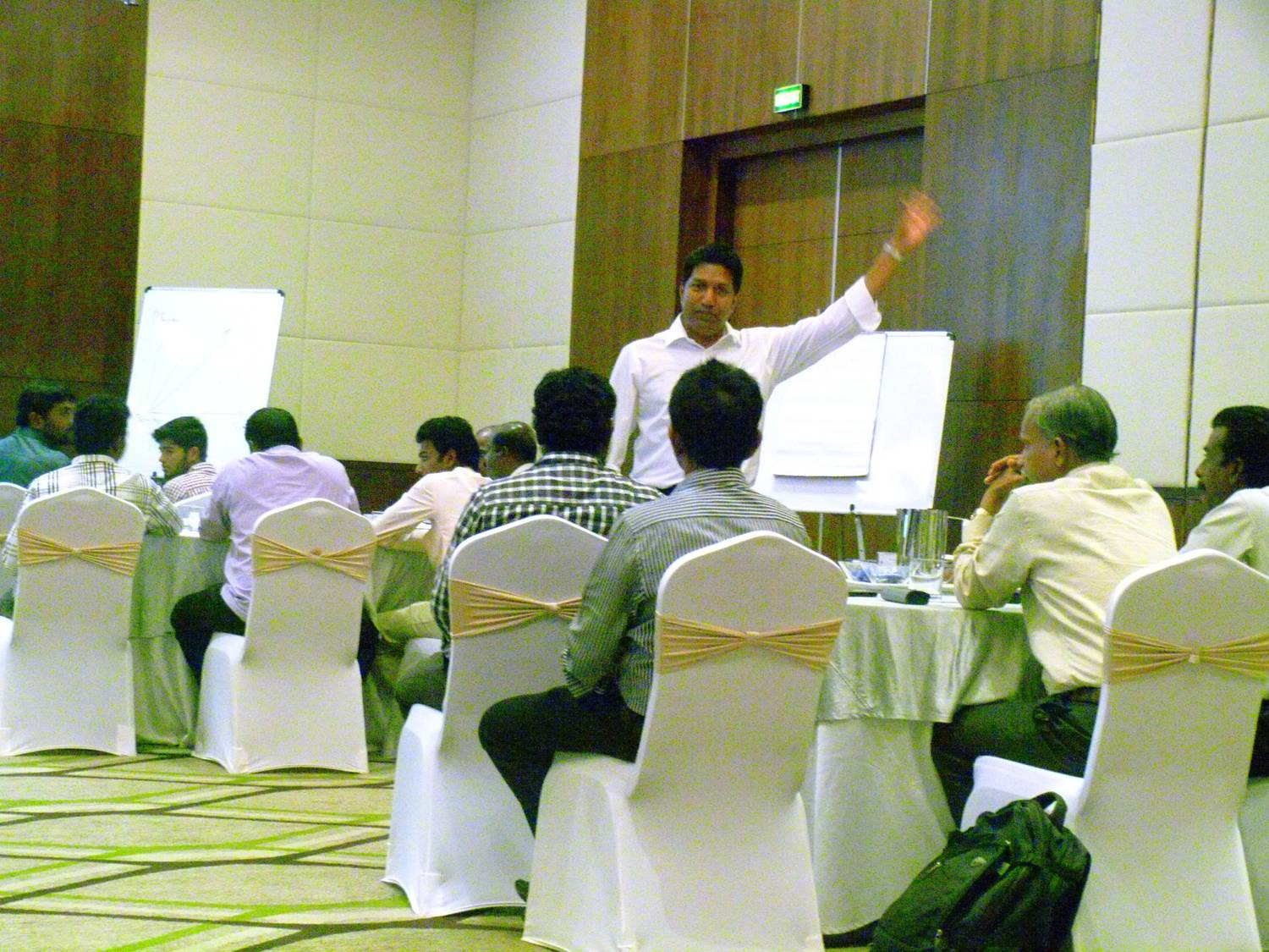 Executive W.H.I.T.E. Leadership™Engagement, May 2015, India