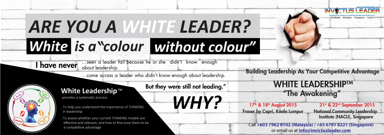 Banner - White Leadership Aug-KL and Sep-Sgpore 2015 ver2