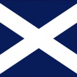 Flag of Scotland - small