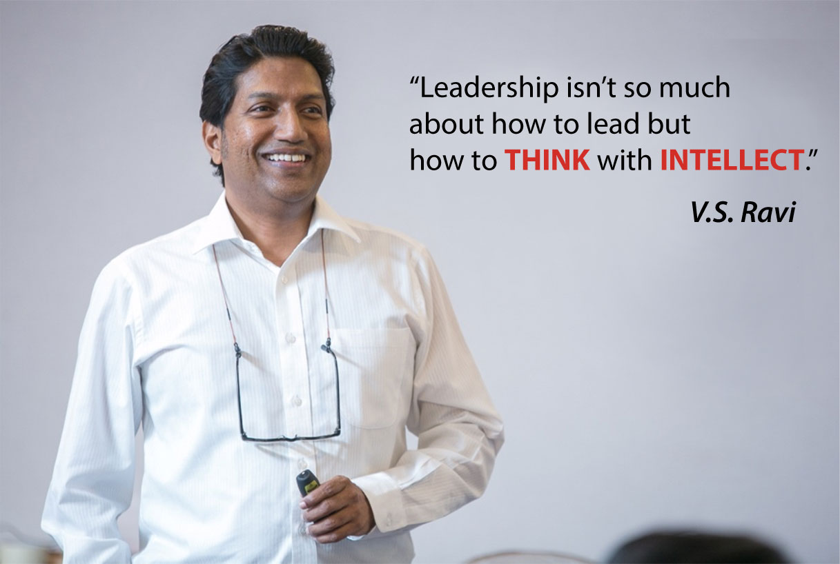 Ravi with latest leadership quote - 30 July 2016